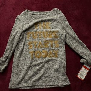 NWT the future starts today shirt